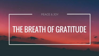 The Burden of Aspirations and a Breath of Gratitude