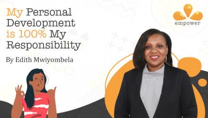 My Personal Development is 100 percent My Responsibility