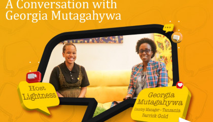 A Conversation with Georgia Mutagahywa: Country Manager Tanzania Barrick Gold