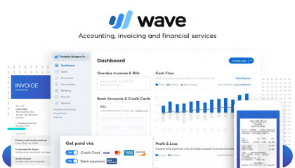 Wave - A must have small business management software