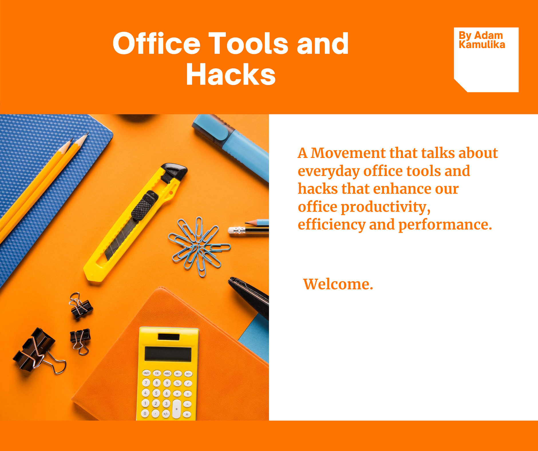 Office tools and hacks